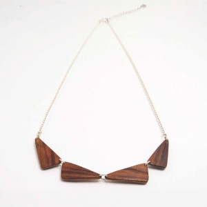 Padoek wooden necklace
