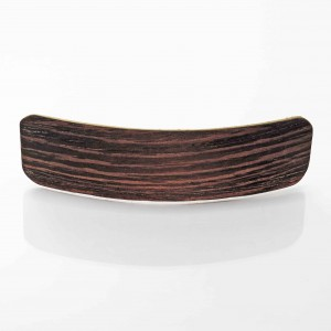 Wenge wooden hair clamp