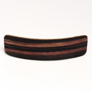 Padoek wooden hair clamp