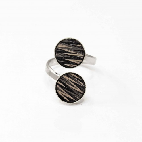 Braided-wooden ring 2