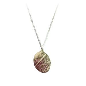 Leaf vein necklace