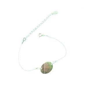 Leaf vein bracelet