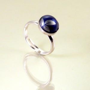 Blueleaf ring
