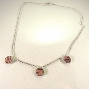 Wooden necklace 2
