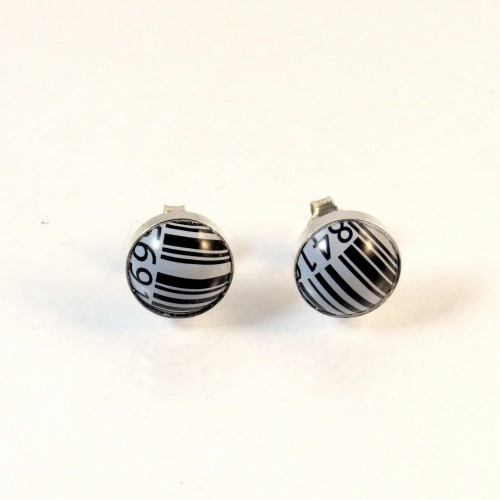 Barcode earrings