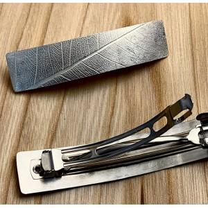 silver hair clamp